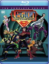 Legion of Super Heroes: The Complete Series (BLU-RAY) 2020 - Seasons 1 & 2 [DC]