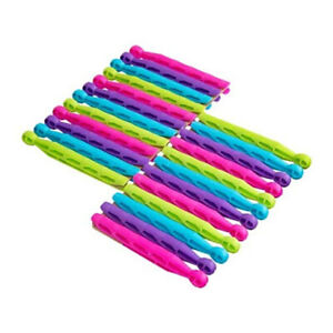 TRADITIONAL HIGH QUALITY PLASTIC DOLLY PEGS CLOTHES WASHING LINE