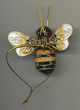 Kubla Enameled Bumblebee. Beautiful! Superb quality ! Cream & Black.