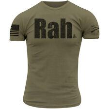 Grunt estilo USMC-ra T-Shirt-Verde Militar