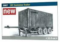 Italeri Models 1/24 20 Ft. Container Trailer