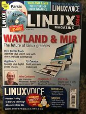 LINUX PRO Magazine April 2017 WAYLAND & MIR The Future of Linux Graphics NEW