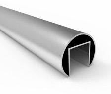Stainless Steel Slotted Tube 304G Satin x 6m Length for Glass Balustrade - 42.4m