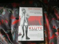"RARE! DVD NEUF ""KLUTE"" Jane FONDA, Donald SUTHERLAND, Roy SCHEIDER / Alan PAKULA"