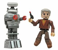 Lost in Space Dr. Smith and B9 Robot Minimates Figure 2-Pack