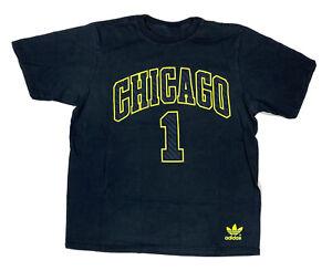 Chicago Bulls Rose #1 T Shirt Size XL Men's NBA Tee