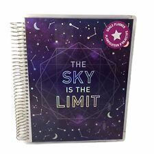 Recollections Undated Spiral Planner 12 Months 75x925 The Sky Is The Limit