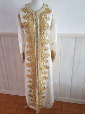 Caftan mariée dubai mariage robe marocaine  ivoire dress