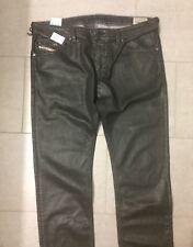 Diesel Jeans Leder-Look Hose Herren 34/36 Neu