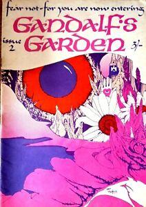 Gandalf's Garden #2 1968. Underground Culture Magazine.  John Hurford cover EXC