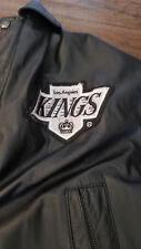 1990'S LOS ANGELES KINGS PRO PLAYER BY DANIEL YOUNG LEATHER JACKET LARGE L
