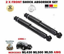 Pour mercedes ML430 ML500 ML55 amg 1998-2005 2 x front shock absorber provocateur set