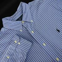 Mens Polo Ralph Lauren Classic Fit Oxford Golf Dress Shirt Size 16.5 34/35 Large