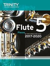 Trinity College London: Flute Exam Pieces Grade 5 2017 to 2020 (score & part) by