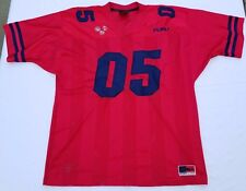 FuBu The Collection Sport Classic Edition football jersey men sz XL  red navy vtg 8126a5aa7