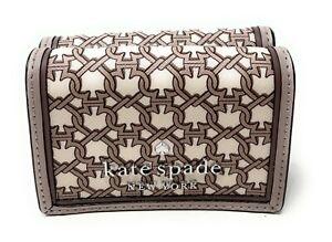 Kate Spade New York Staci micro Tri Fold Wallet Credi Card Holder $99