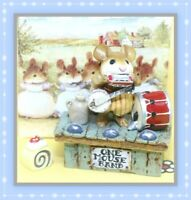 ❤️Wee Forest Folk One-Mouse Band M-196 1993 Annette Petersen RETIRED Stage❤️