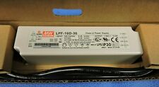New Mean Well switching power supply Class 2 Lpf-16D-36 36V 0.45A Led Driver