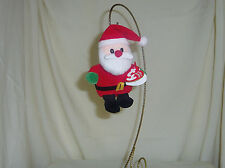 Santa 2008 5in Ty Jingle Beanie Babie Christmas ornament 3up 35119