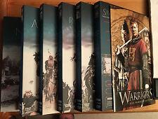 WARRIORS-DIE GRößTEN KRIEGER DER GESCHICHTE-BBC-DVD Kompl. Serie 6 DVD Schuber
