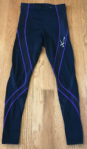 CW-X endurance pro full length tights compression fit Women's Small S 140809