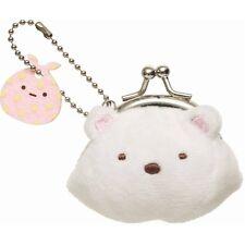 San-x Sumikko Gurasi Plush Coin Case Polar Bear (CK51701)