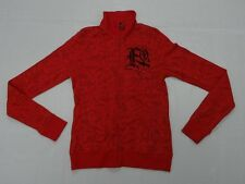 FOX WOMAN GIRLS SMALL TRILLIANT 2011 RED JACKET SWEATER