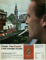 Publicité ancienne cigarettes Peer issue de magazine