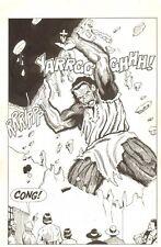 Planet of the Apes: Ape City #2 p.7 - Splash - Malibu - 1990 art by M.C. Wyman