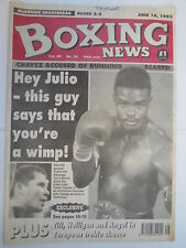 Boxing News 18 June 1993 Terry Norris Chavez McKenzie Andy Till,Holligan,Angol,
