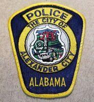 AL Alexander City Alabama Police Patch