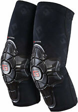 G-Form Pro-X Elbow Pad: Black/Embossed G MD