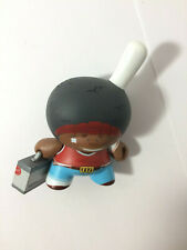 Dunny French Series 2008 Afro Black Kidrobot Tizieu