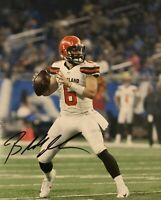 Baker Mayfield 8x10 Signed Autograph Cleveland BROWNS Oklahoma Sooners REPRINT