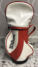 Wilson Mini-Golf Bag Vintage Novelty in White & Red