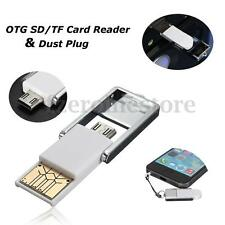 OTG/USB Multi-Function Micro SD TF Card Reader Adapter Hi-speed For Smart Phone