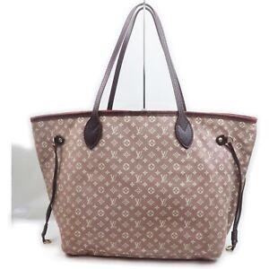 Louis Vuitton Tote Bag  M40515 Neverfull MM Rose Monogram Mini lin 1906412