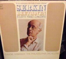 Serkin Beethoven Fourth Piano Concerto Eugene Ormany Philadelphia Orchestra-LP