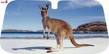 Kangaroo design car windshield sun shade, Selec  SIZE   130x60, 145x70 or 150x80