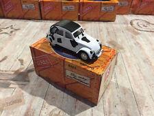Voiture Miniature Citroen 2cv Vache Lait Norev au 1/43