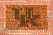 Kentucky Wildcats Laser Engraved Welcome Mat, 100% Natural Coir Fiber