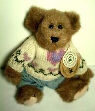 Boyds Bears Edmund Spring 1997 Heart Sweater ~ Nwt Bailey's Friend ~ Retired