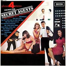 "Roland Shaw And His Orchestra - Themes For Secret Agents (NEW 12"" VINYL LP)"