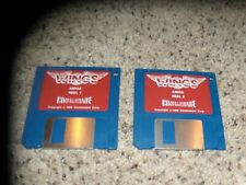 "Wings Commodore Amiga Game on 3.5"" disks"
