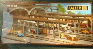 Faller. HO-B191 Bonn Station Kit. Unopened.