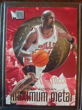 New listing 1996-97 Metal Michael Jordan maximum metal