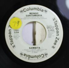 Jazz 45 Mongo Santamaria - Sambita / A Mi No Me Enganan (You Better Believe It)