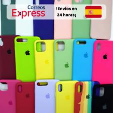 Funda Silicona Líquida Silicone Case Interior Microfibra para iPhone