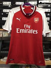 Puma Arsenal Home Jersey Authentic Version Red White Size XL ONLY