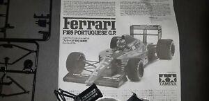 Tamiya 1/20 Ferrari F189 Portuguese GP No24  (Late Version).